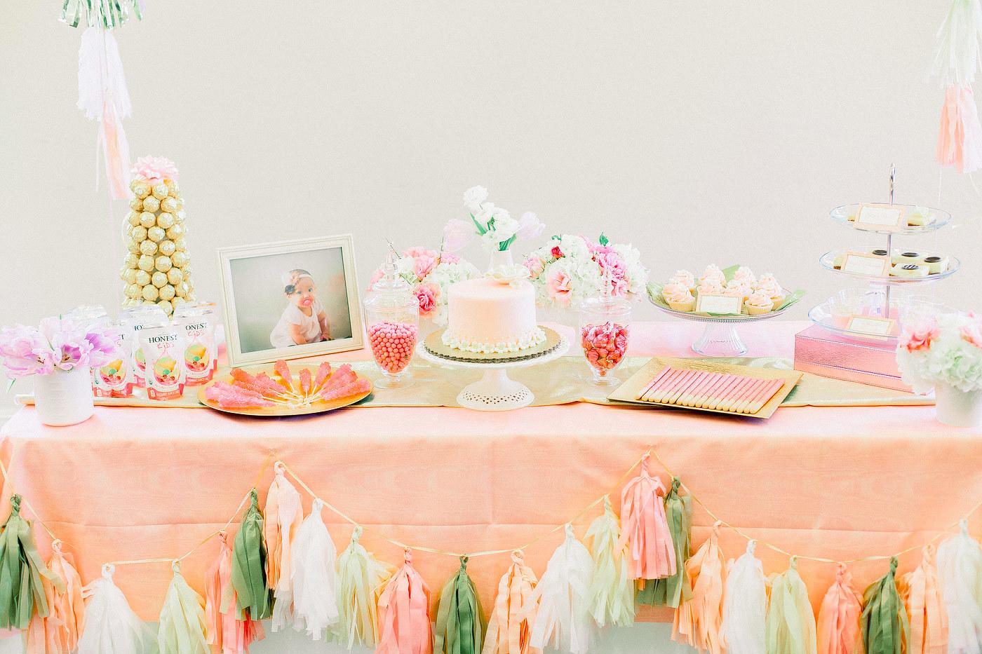 San Francisco First Birthday Party Photos
