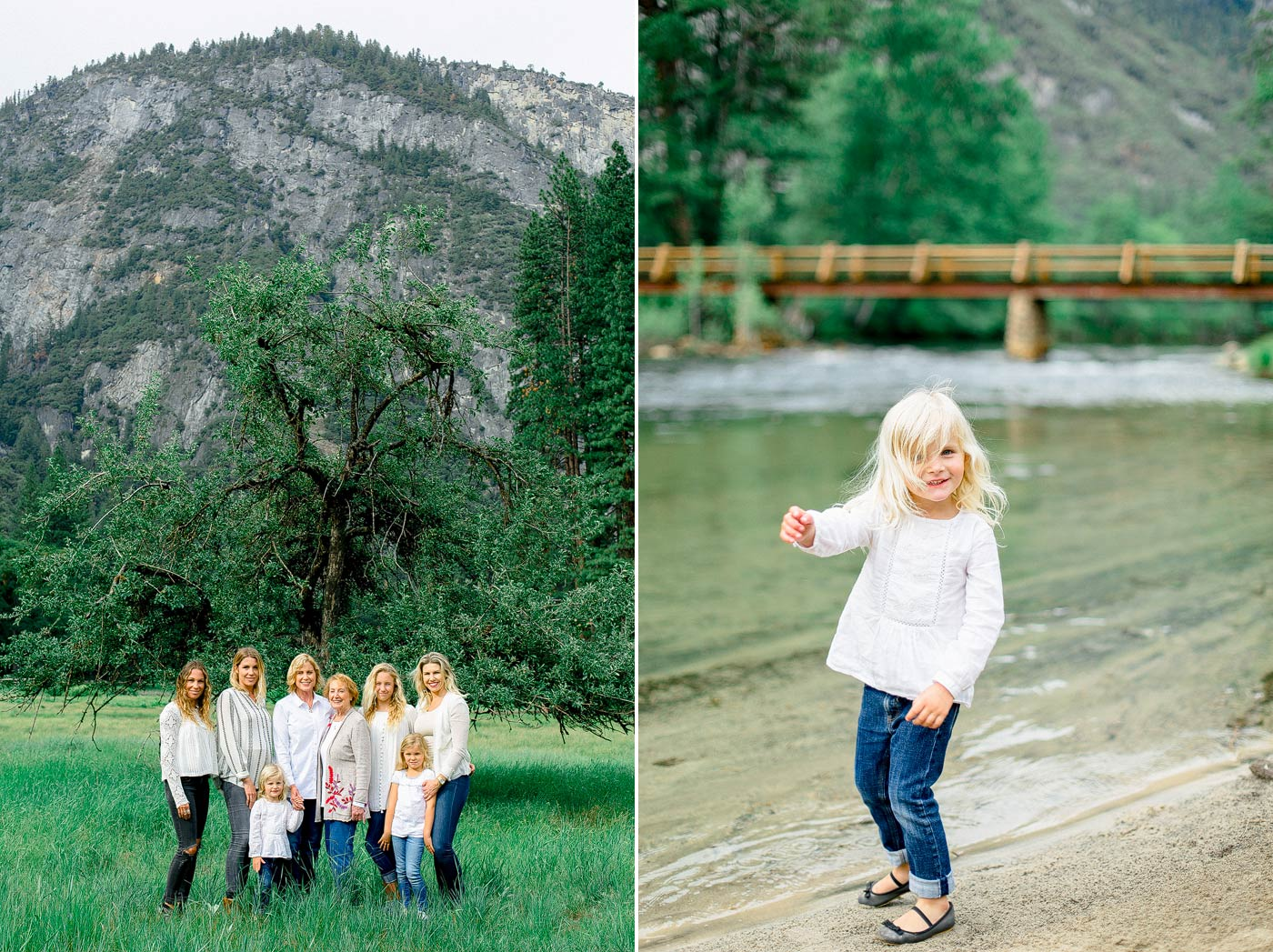 Yosemite Family Images