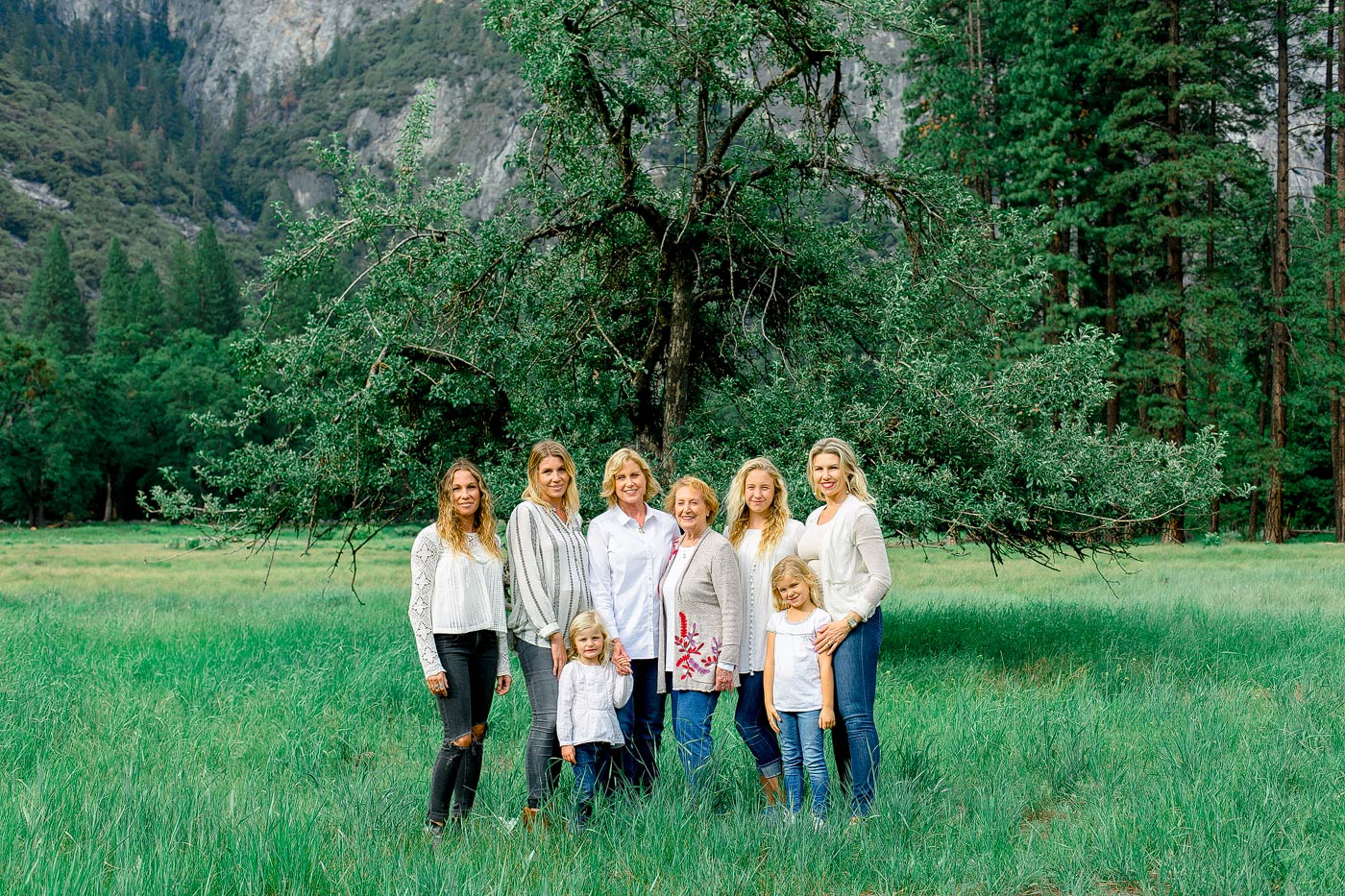 Yosemite Film Family Photos
