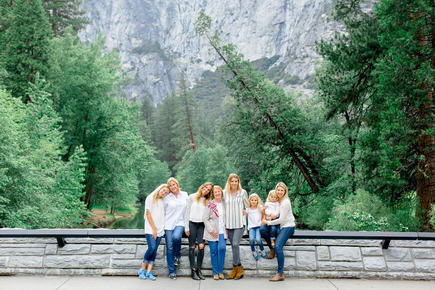Family Photographer in Yosemite