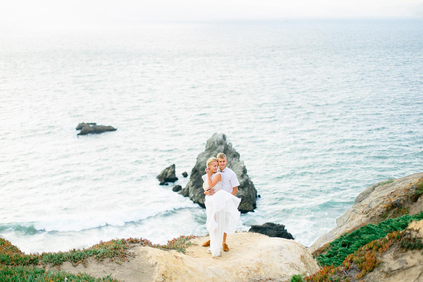 Engagement Photos Lands End San Francisco