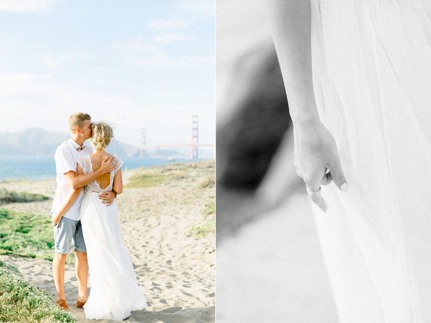 Baker Beach Engagement Photographer