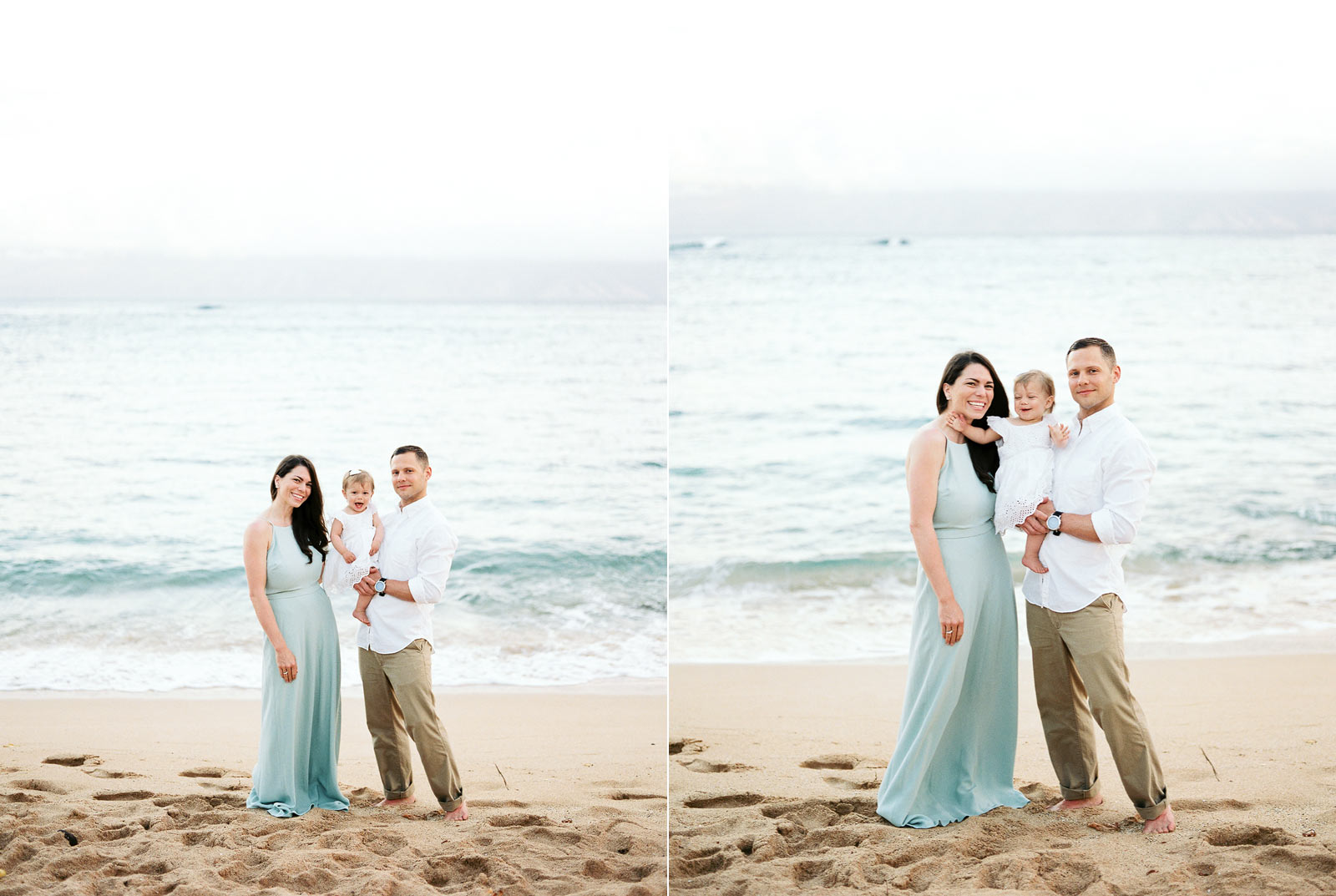 Kapalua Bay Beach Film Family Photos