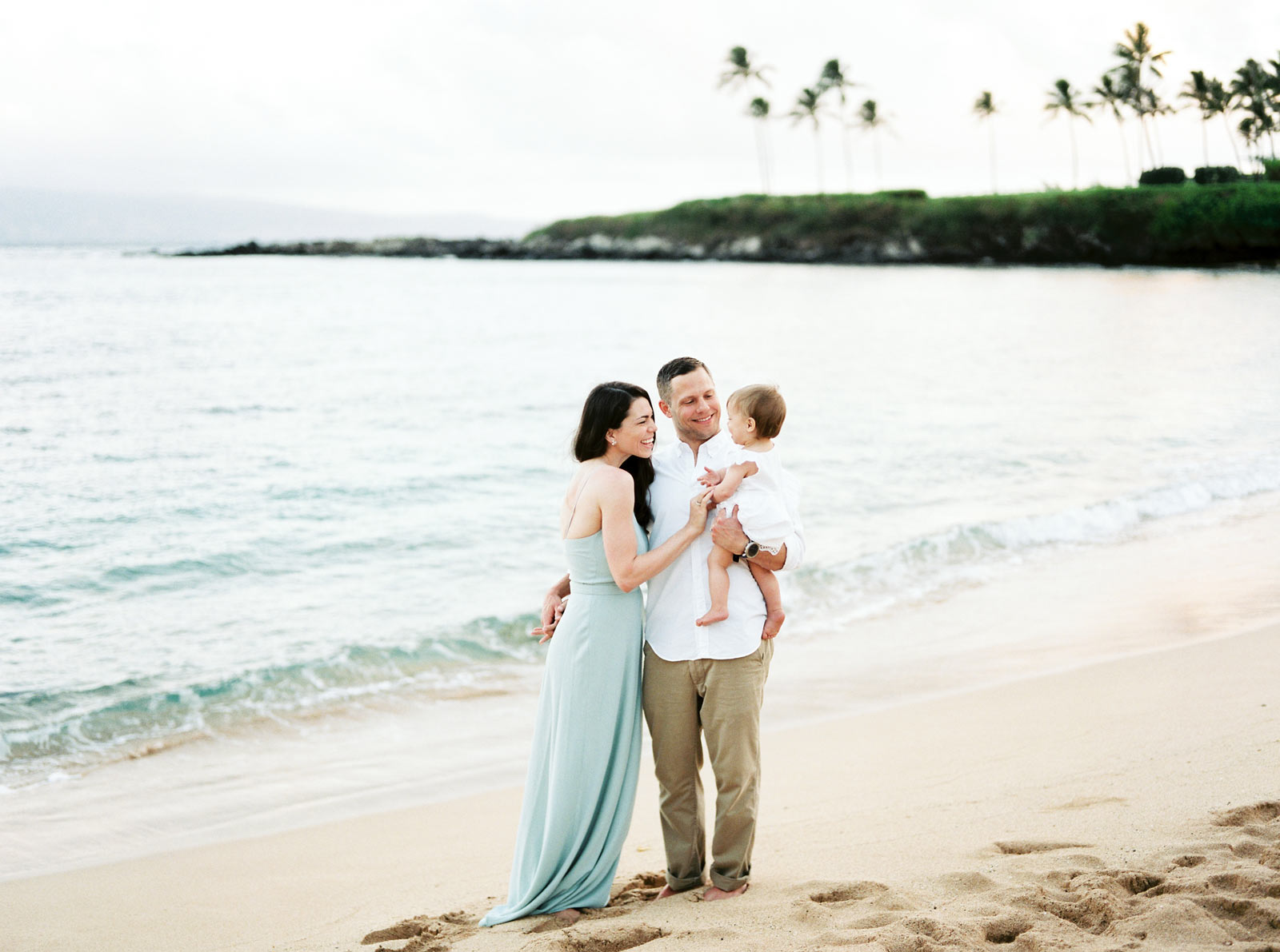 Family Photos Kapalua Bay Beach
