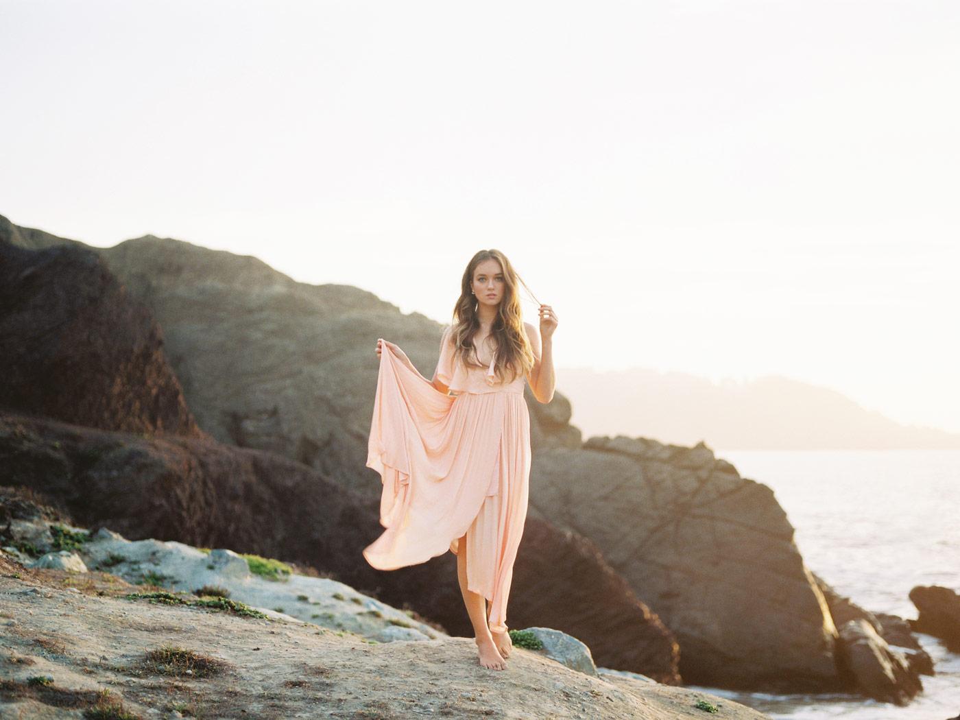 San Francisco Sunset Portrait Photos