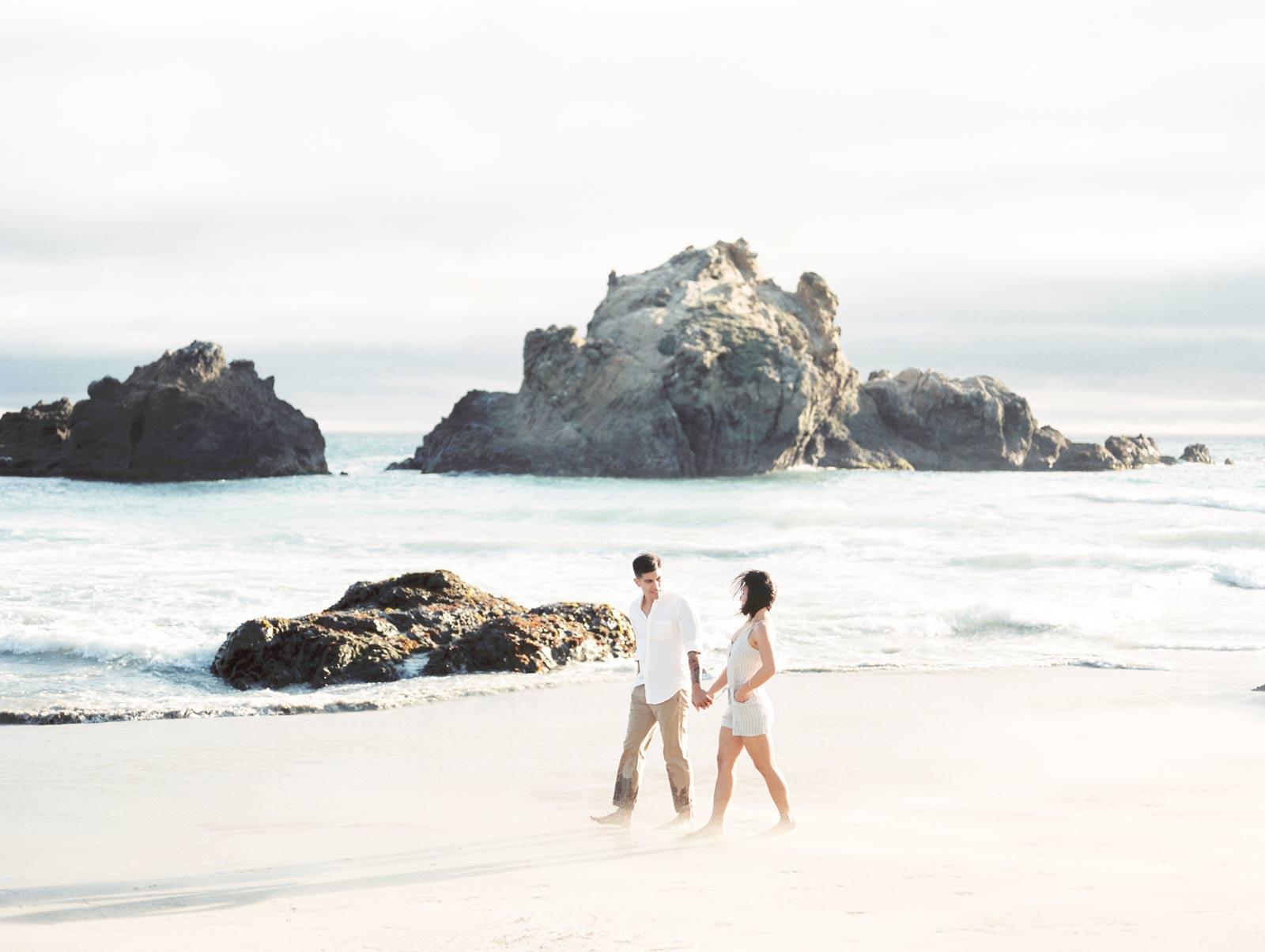 Engagement Photos Big Sur