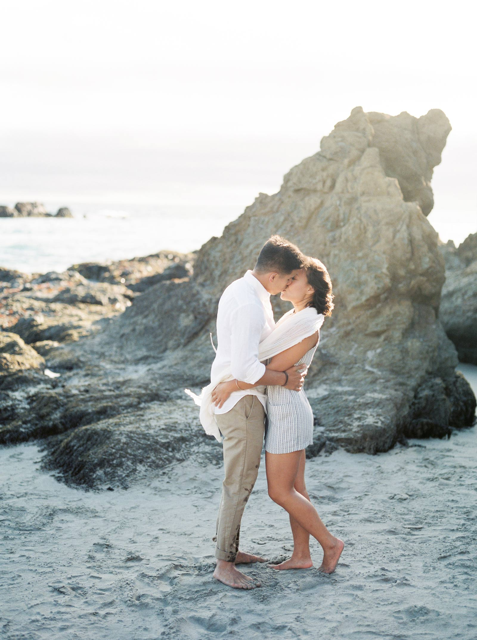 Big Sur Engagement Film Photos