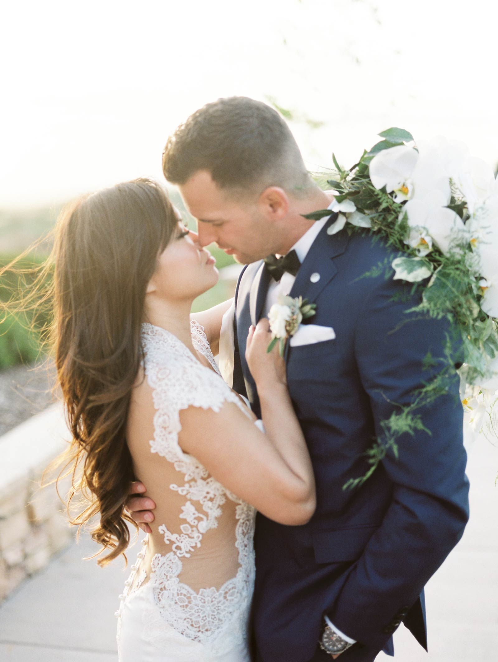 Fine art Wedding photographer Boulder ridge golf course