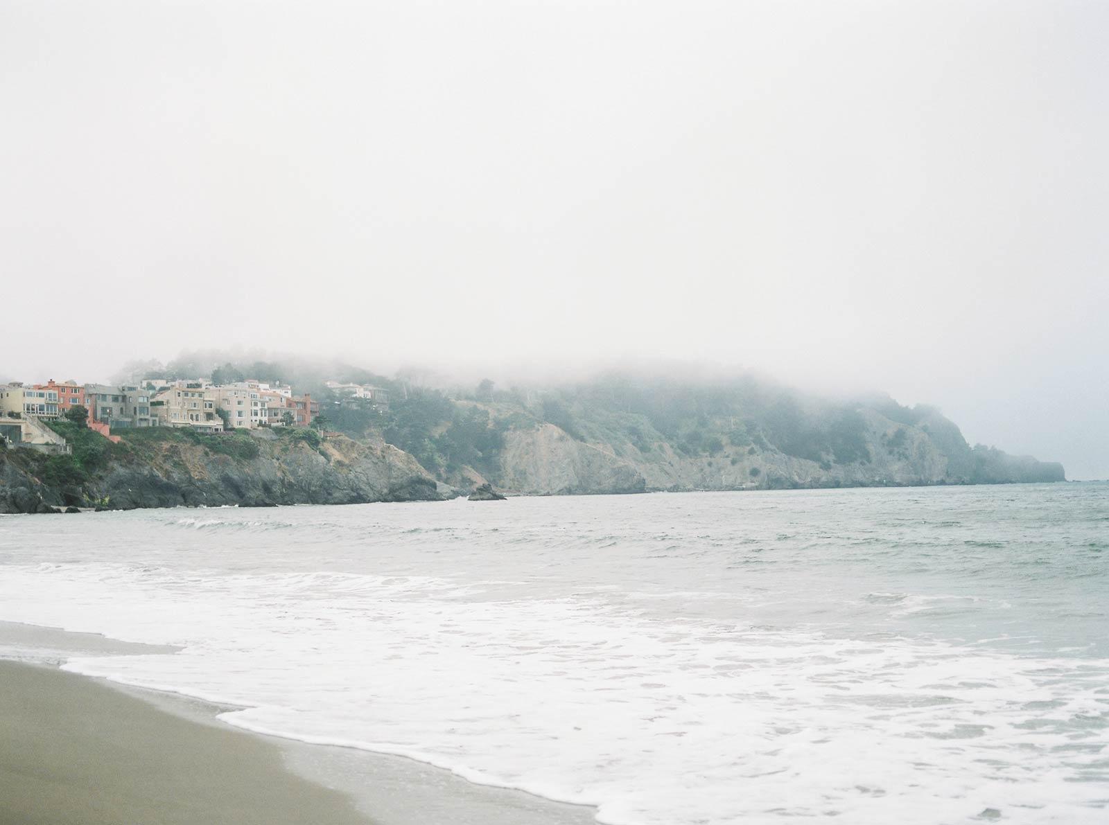 San Francisco Baker Beach Engagement