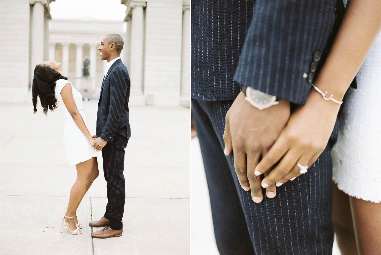 Legion Of Honor Engagement Photographer
