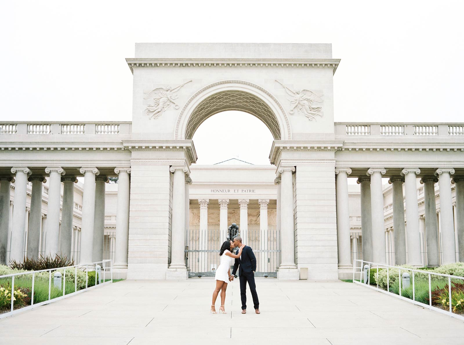 Legion Of Honor Engagement Photography