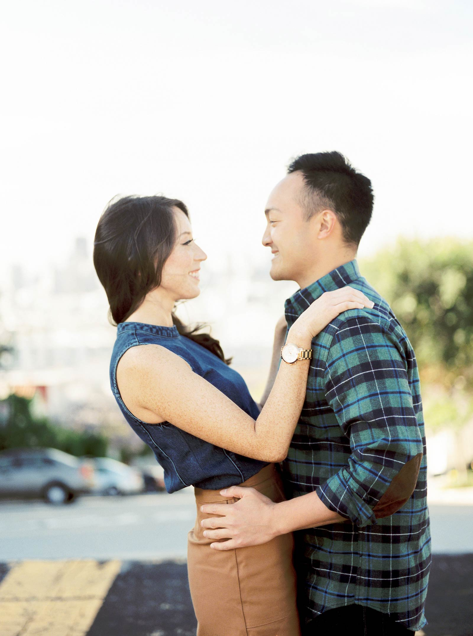 Potrero Hill Engagement Photography