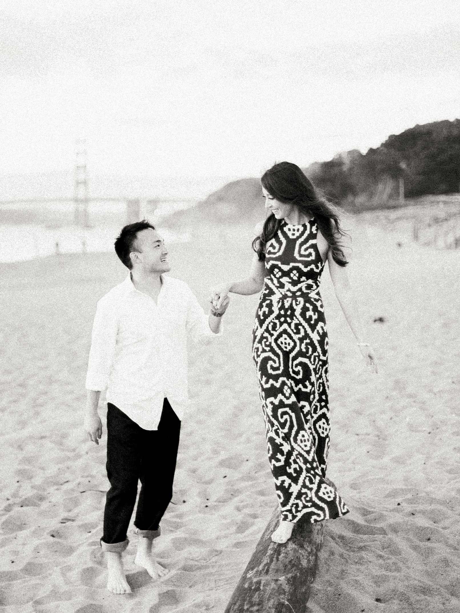 Engagement Photographer Baker Beach San Francisco