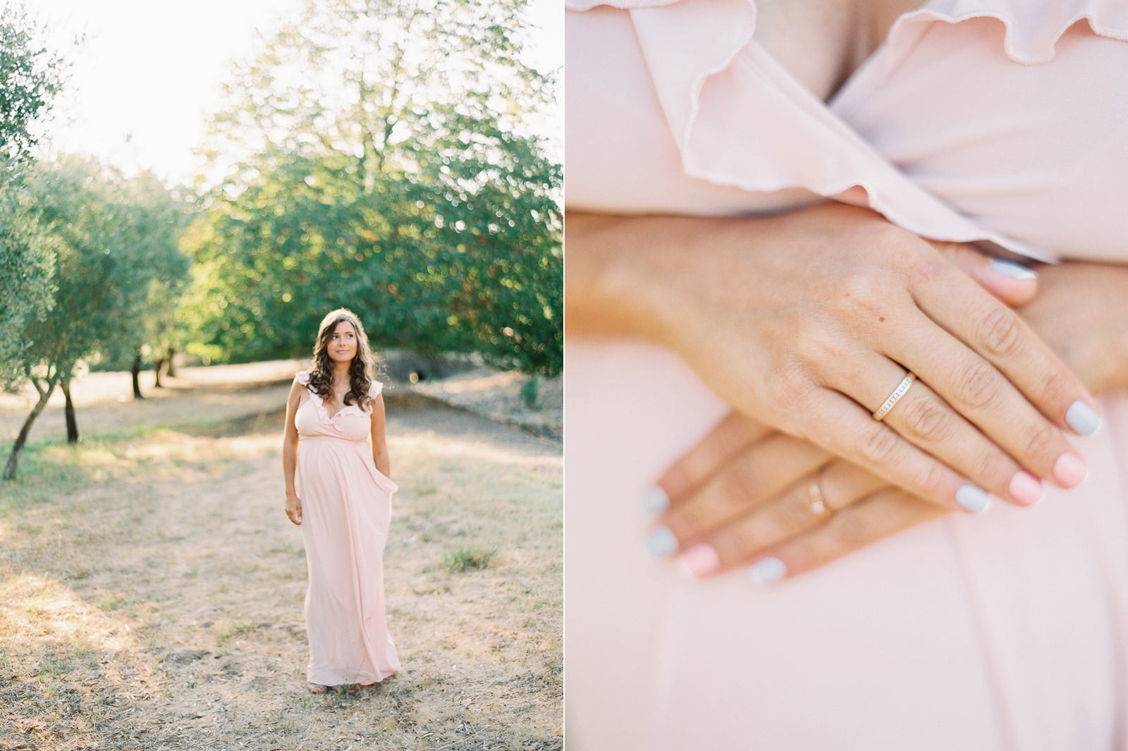Napa maternity film images