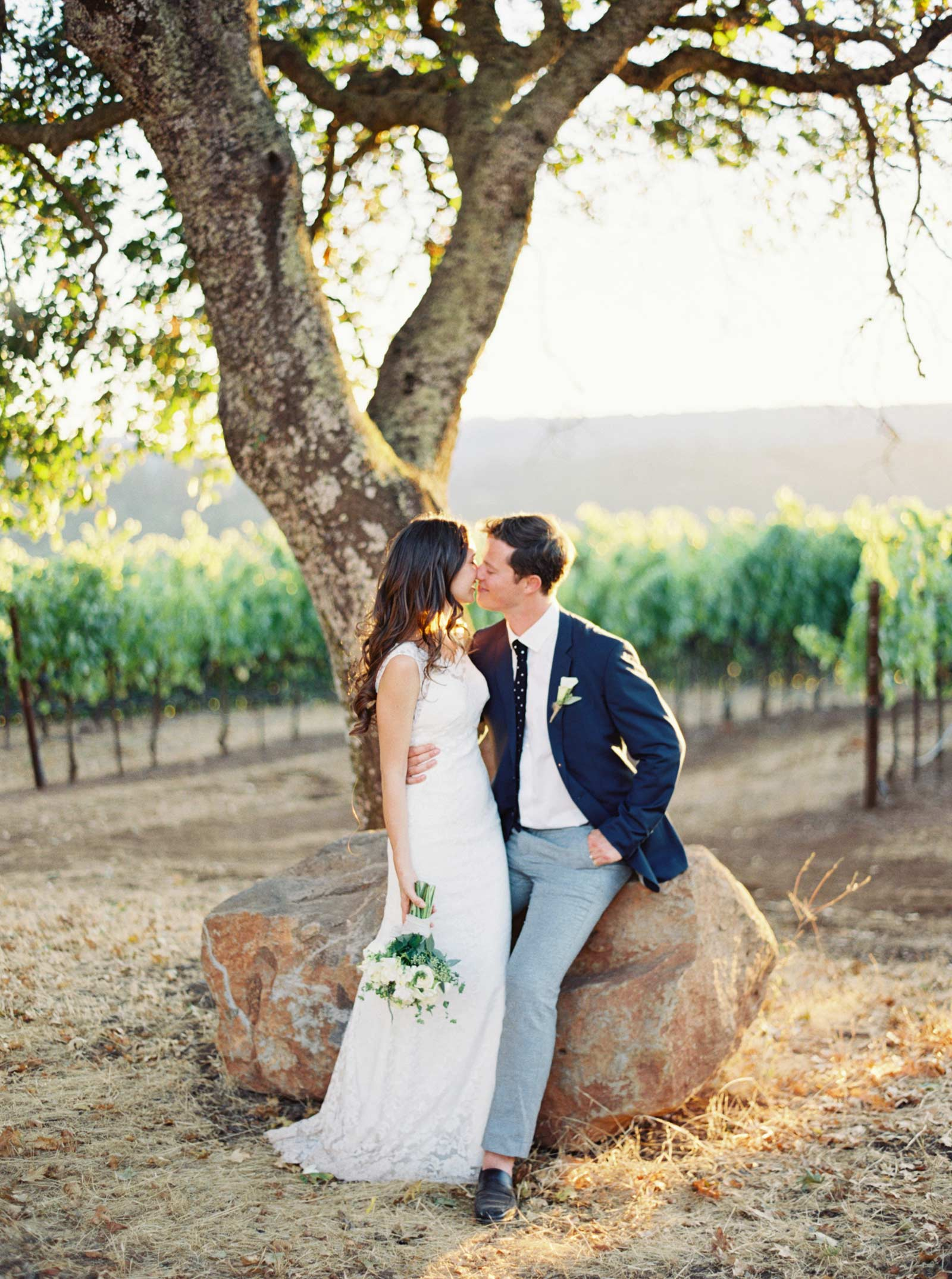 Kunde winery wedding