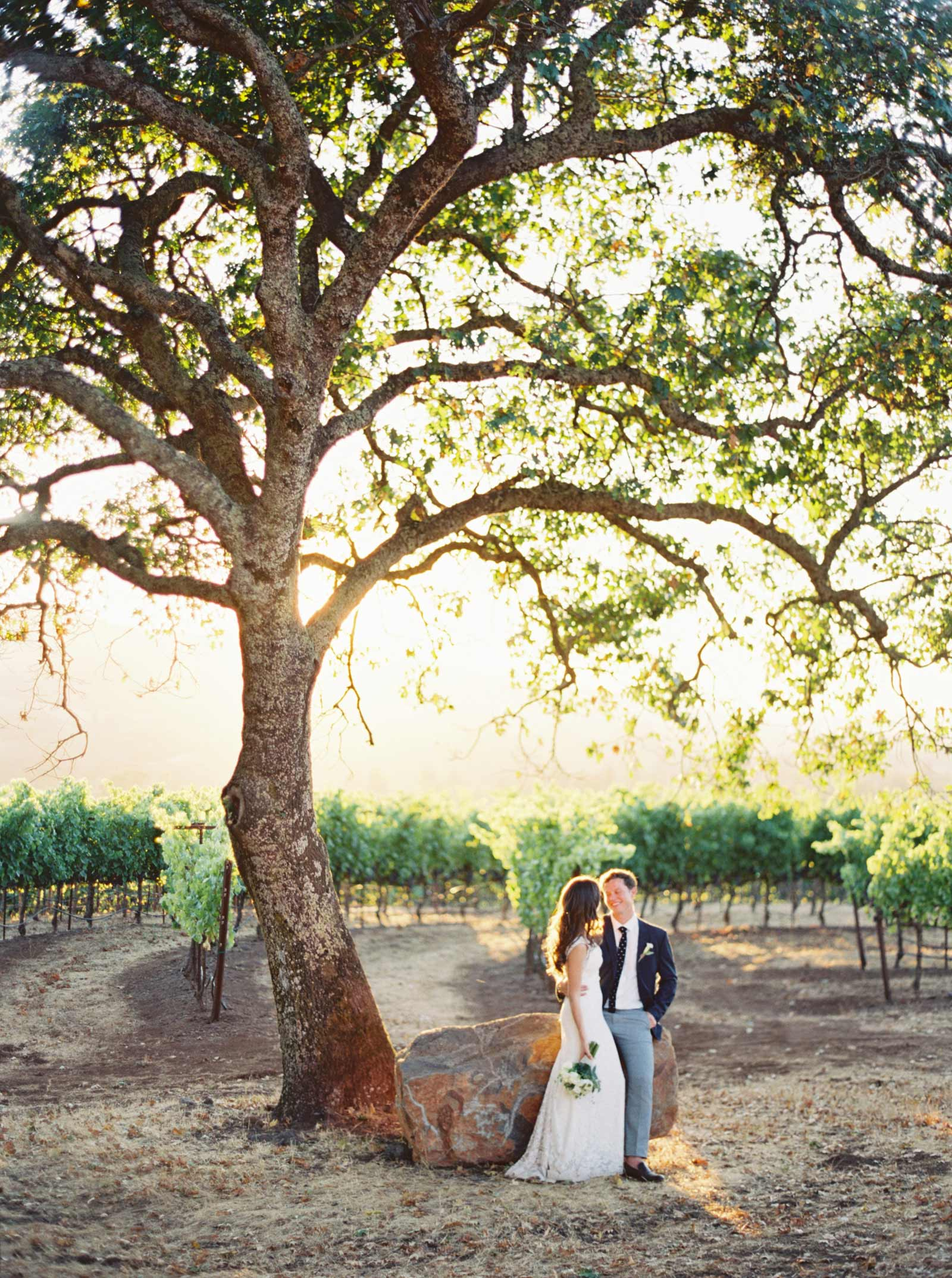 Kunde winery wedding pictures