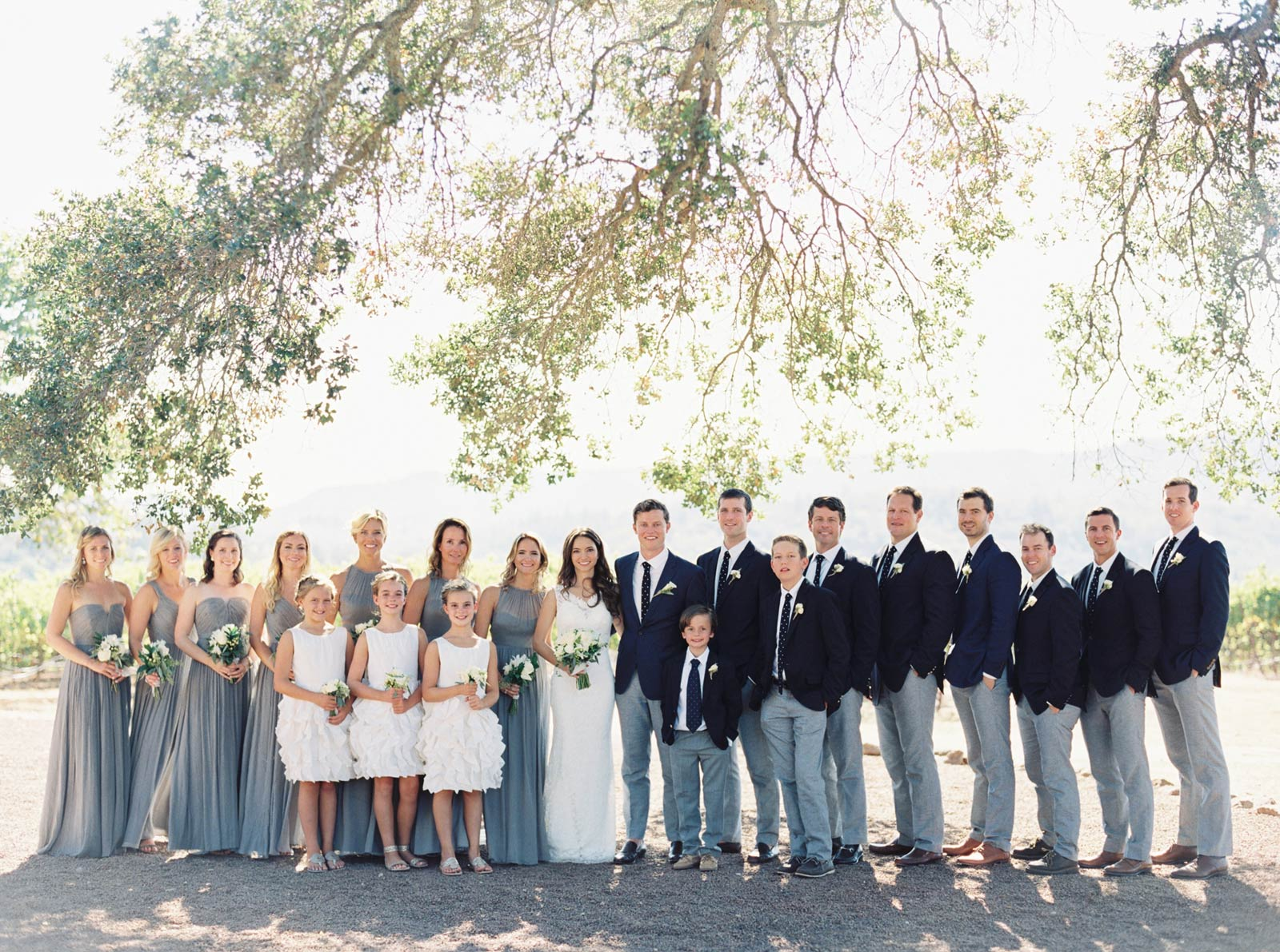 Kunde winery bride and groom wedding images