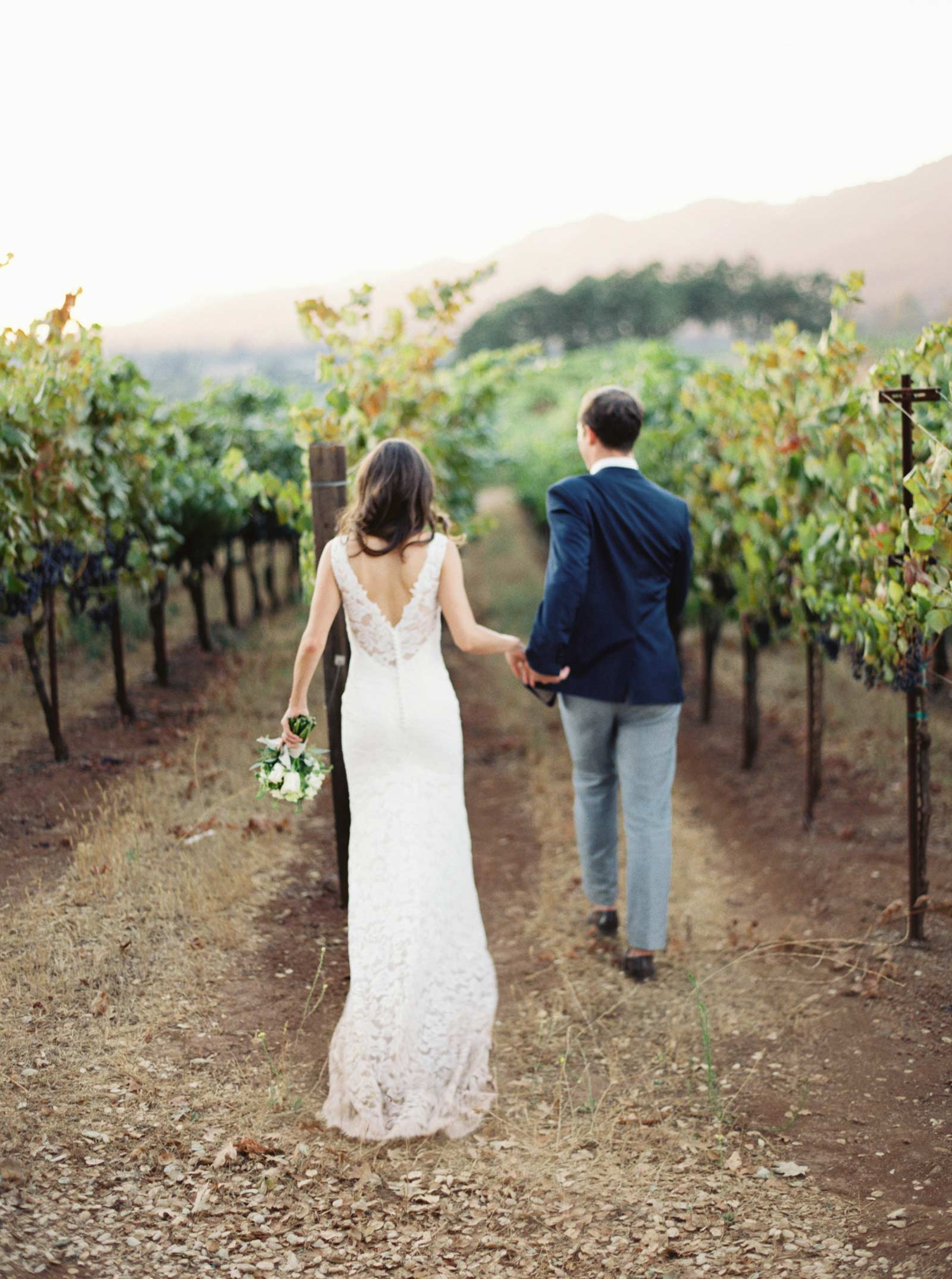 Kunde winery film wedding photos