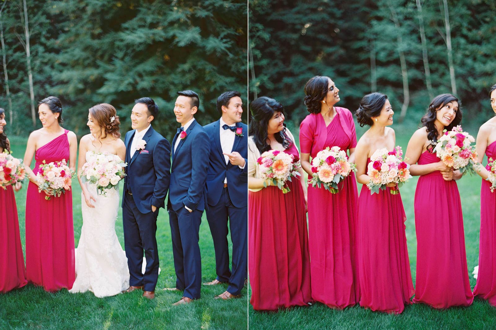 Nestldown film wedding photos
