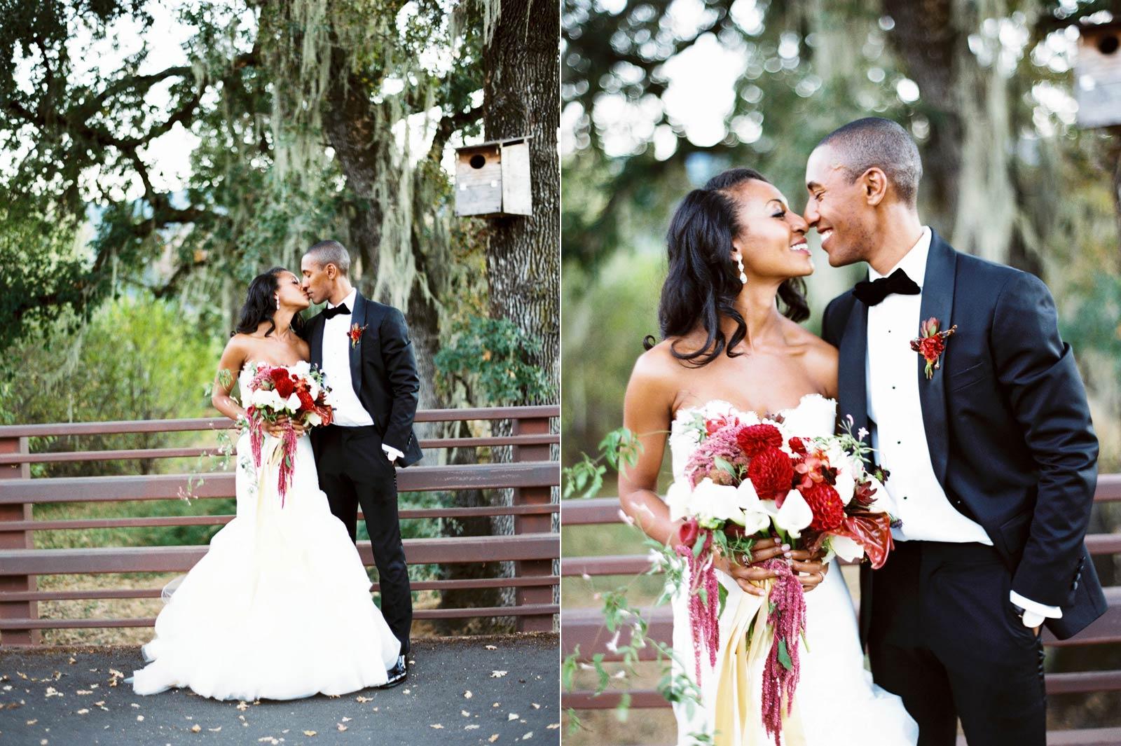 wedding photos Solage Calistoga