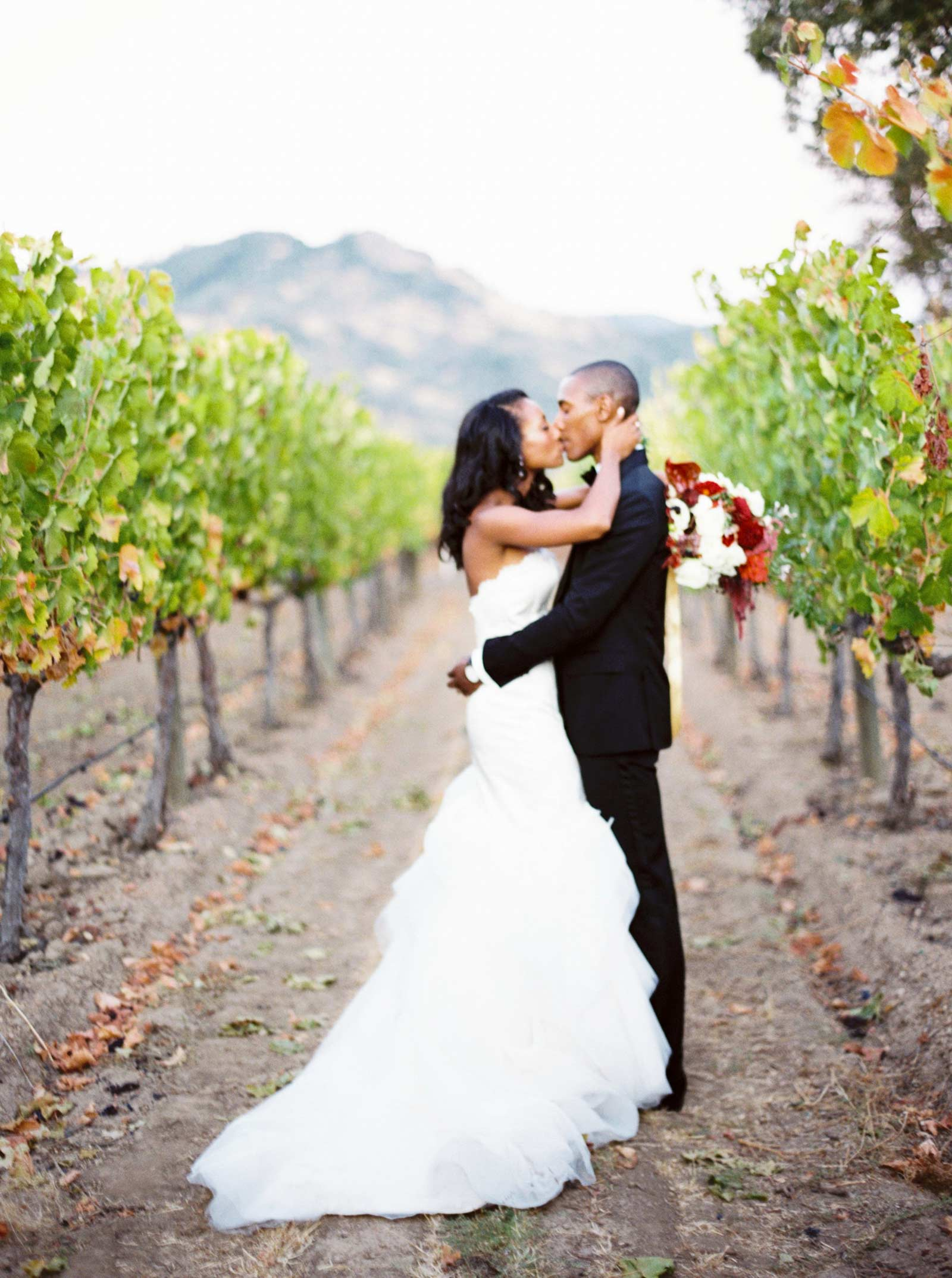 wedding photos in Solage Calistoga
