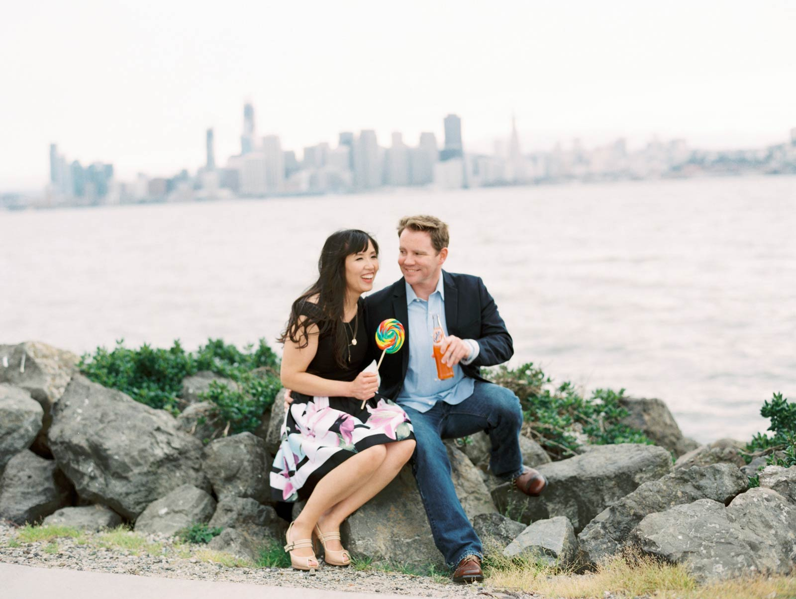 engagement photography Treasure Island