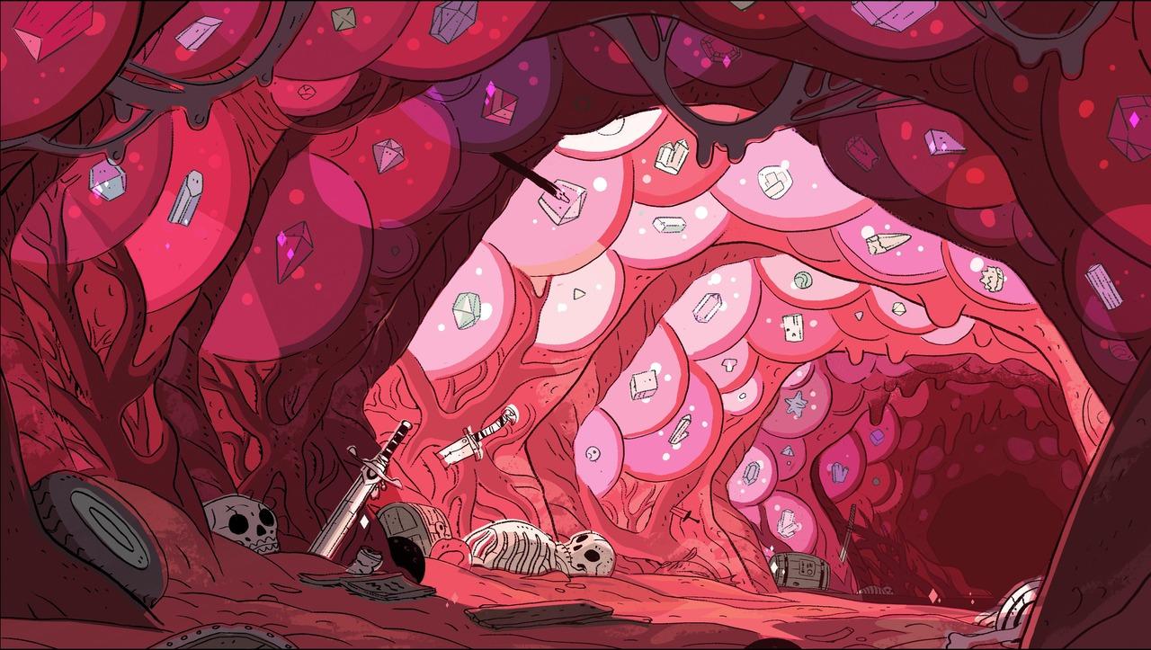 Layout design for Steven Universe (Cartoon Network)