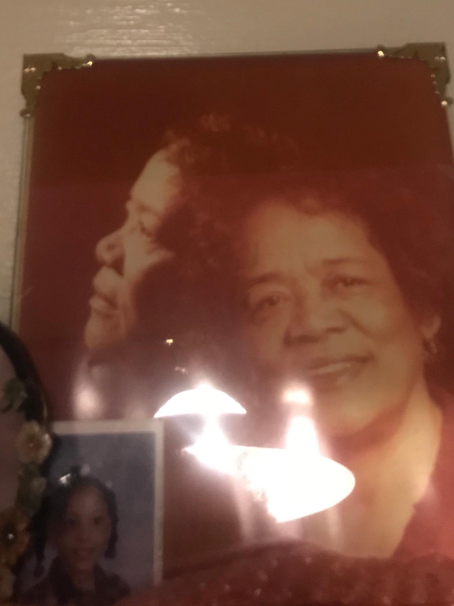 My beautiful great grandma. Rest in peace, Queen.