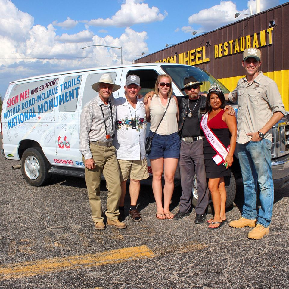 From left to right: Paul Melzer (Mission Advancement for The Wildlands Conservancy), Jim Conkle, Kimberly Hill, Len Nordmann, Esther Hollister, Lucas Wilgers