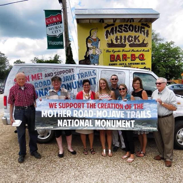 Missouri Hick on 66. Great BBQ and friendly people on Historic Route 66 in Cuba, MO! Thanks! #saveroute66