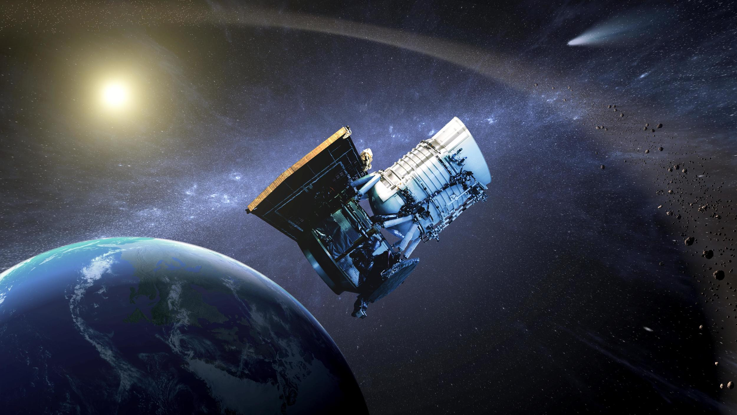 Dr. Amy Mainzer  discusses how she and her team calculated how many asteroids are out in space, waiting to be discovered.