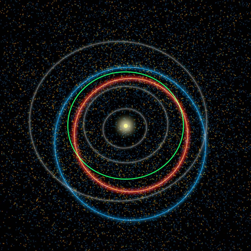 Dr. Tim Spahr, CEO of NEO Sciences and former director of the  Minor Planet Center , stops by the show to talk about how asteroids are cataloged and monitored. He also talks about his experience the day tiny asteroid 2008 TC3 impacted Earth.  Image Credit: NASA/JPL-Caltech