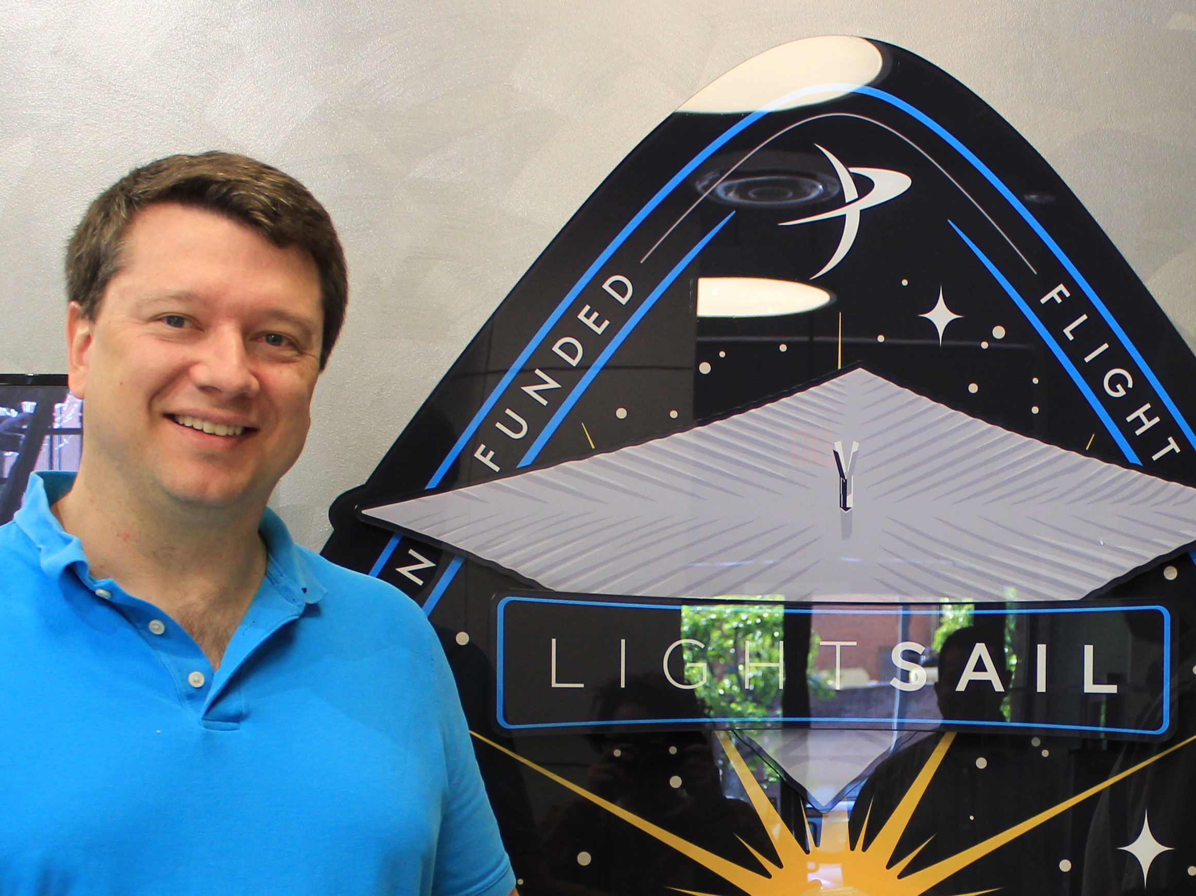 Dr. Betts  talks about  LightSail , an exciting mission to test new technology from  The Planetary Society . This is a special joint episode with  The Orbital Mechanics podcast .  Dr. Betts is also the host of  Random Space Fact , a fun and funny youtube series.    Image: Artist's conception, The Planetary Society