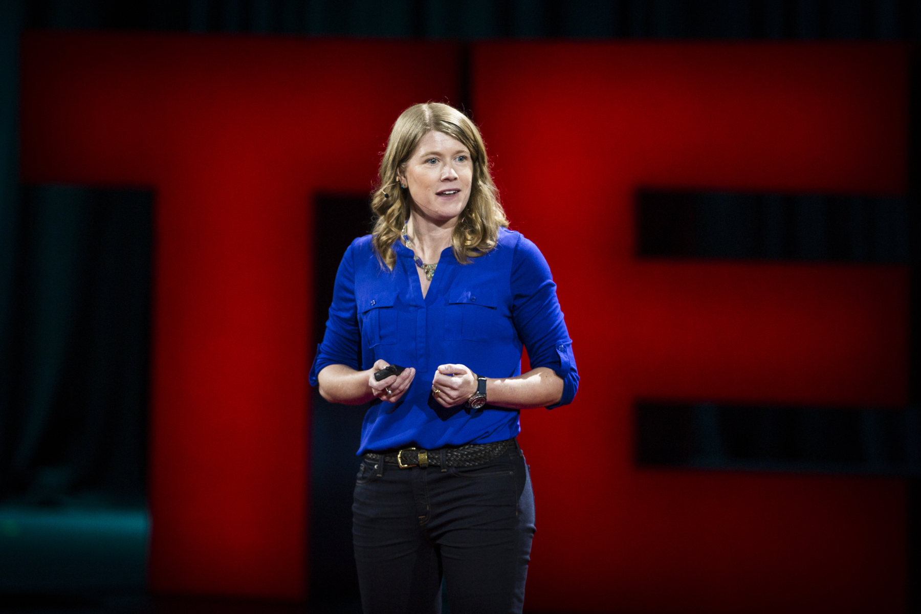 Dr. Sarah Parcak  explains how she uses satellite images to locate archeological sites, and how it's her job to be a detective, piecing together clues to uncover the past. She also talks about  GlobalXplorer , a non-profit that lets everyone be a space archeologist.   Photo: Marla Aufmuth / TED