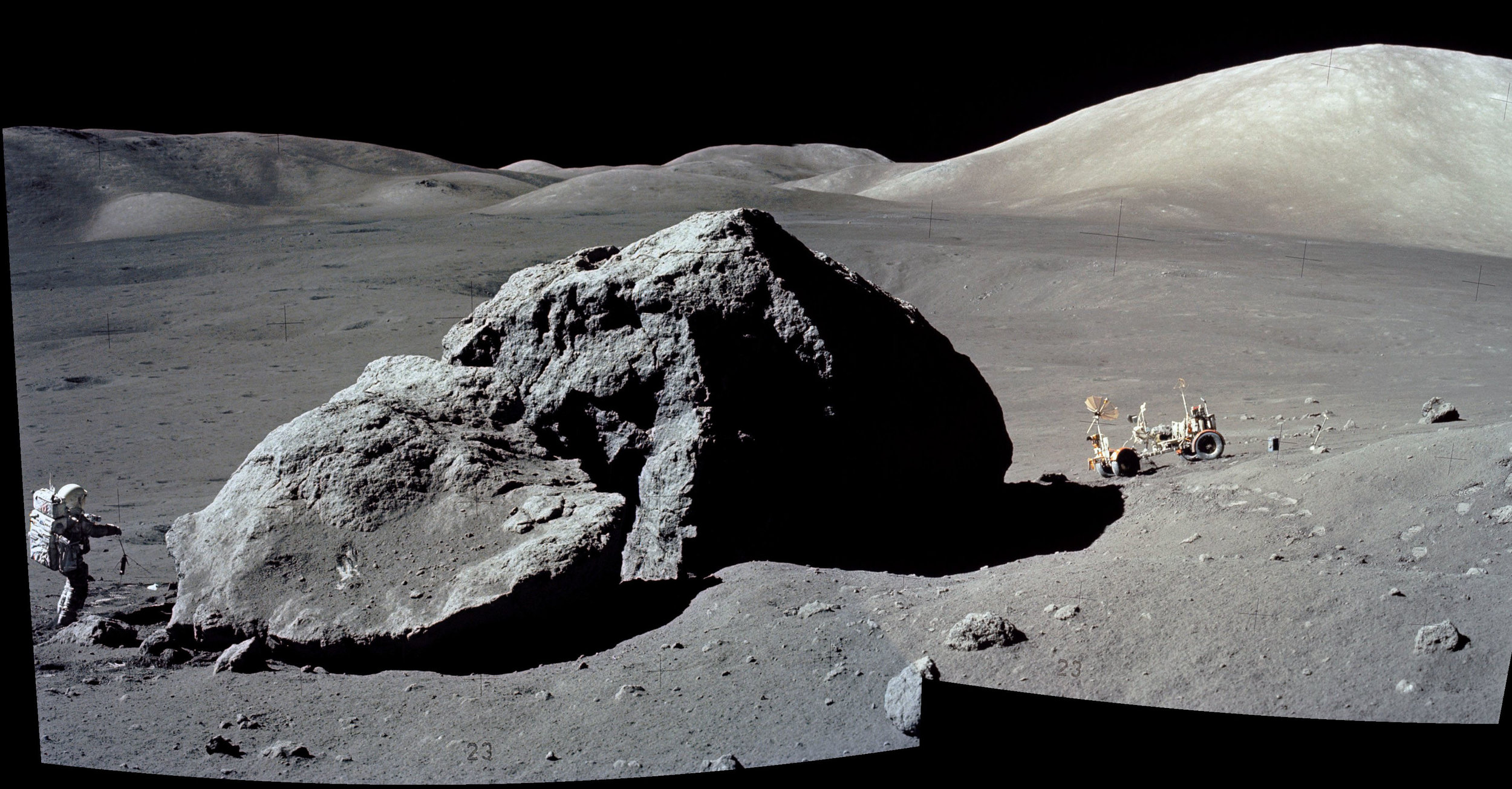 "When taking a sample of the Moon's surface, the Apollo astronauts discovered a sharp transition from powdery soil to harder rock. This transition was entirely unexpected, and remained unexplained for decades.  Dr. Ivy Curren  talks about an experiment she designed to explain this phenomena. She also tells us about a type of lunar dust formation that scientists call ""fairy castle structures."""