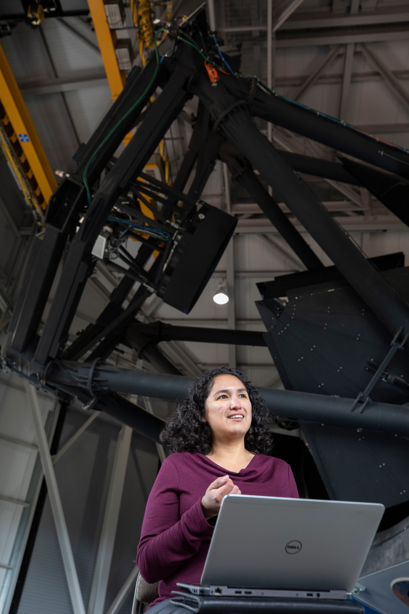 Professor Cristina Thomas  talks about NASA's first planetary defense mission:  DART . DART is a spacecraft that will impact a tiny asteroid moon. She explains why ground-based telescope observations are key to the mission's success.  Follow Prof. Thomas on  twitter !  Image Credit:  Northern Arizona University .