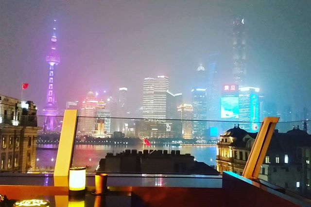 Oh hai Shanghai. Doing a nine hour layover in style thanks to an anonymous internet recommendation. #thanksfornotbeingatroll #rooftopsecrets #homewardbound