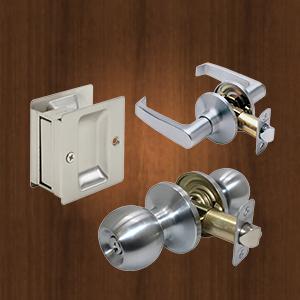 Promax Locks   Residential Brands of Locks   Handlesets   Leversets   Knobsets   Deadbolts   Sliding Door Locks    View All