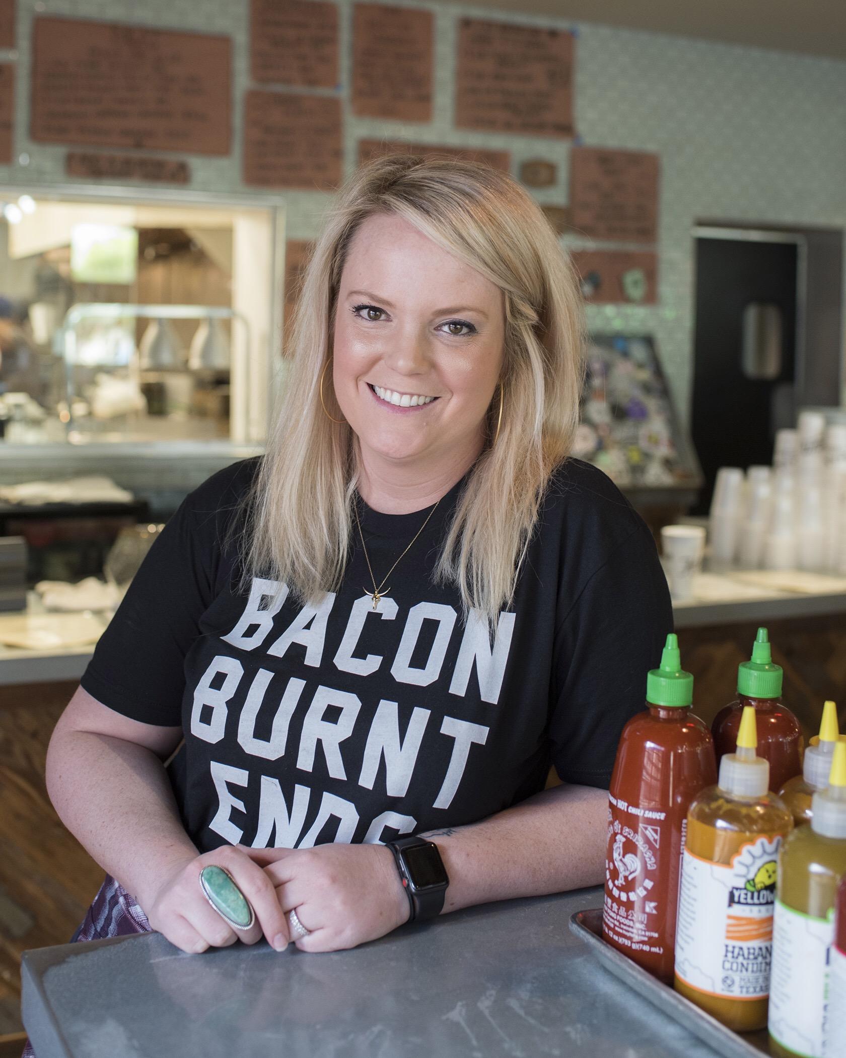 Emma Heim, Heim BBQ in Ft. Worth, Texas. Photo by: Wyatt McSpadden