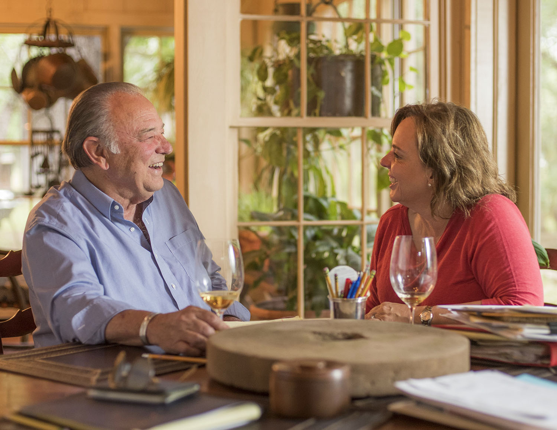 Tom & Lisa Perini, Perni Ranch - photo by : Wyatt McSpadden
