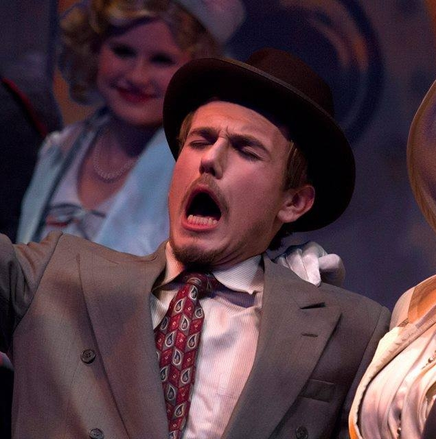 "ANYTHING GOES - ""[...] proves to be a scene-stealer as an aristocratic yet daffy Brit, as does MICHAEL BURRELL as a near-sighted drunken buffoon."" -Jeff Davis, BWW Austin""[...] and MICHAEL BURRELL is equally amusing as the alcoholic day trader Elisha J. Whitney."" -Cate Blouke, Austin 360""Other standouts in this large cast are fine character actors MICHAEL BURRELL as goofy myopic tycoon Elisha J. Whitney [...]"" -Michael Meigs, CTXLT"