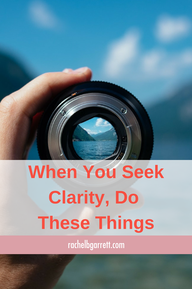 clarity, seeking clarity, honesty, vulnerability, experiment