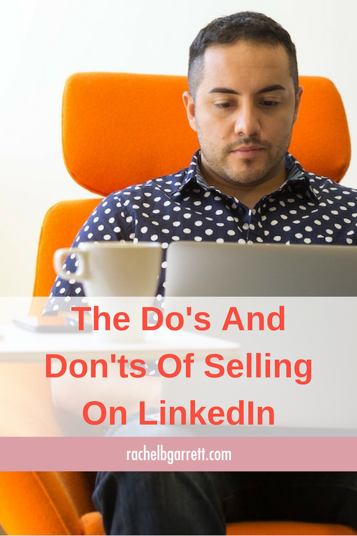 LinkedIn, selling, abuse trust, selling online