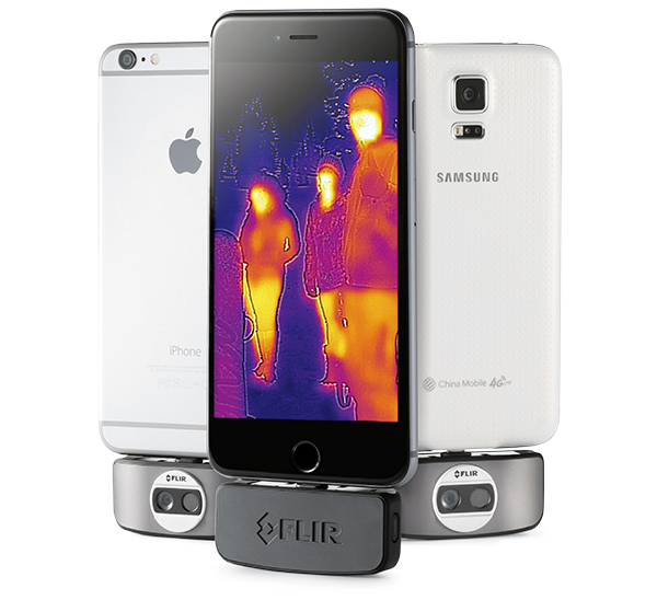 Have you seen this new thermal sensor for your smart phone?  Called a Flir One.