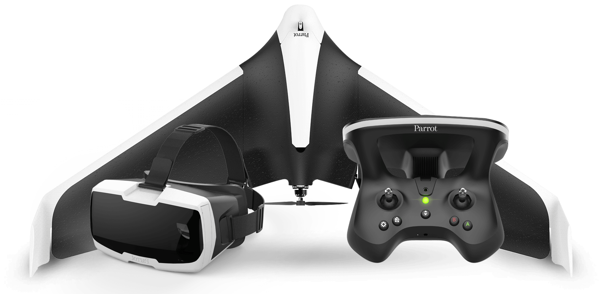 Can't wait to get my hands on this NEW fixed wing ship, released earlier this year at Consumer Electronics Show in Las Vagas the NEW  Parrot Disco !   I have one on order, review soon!