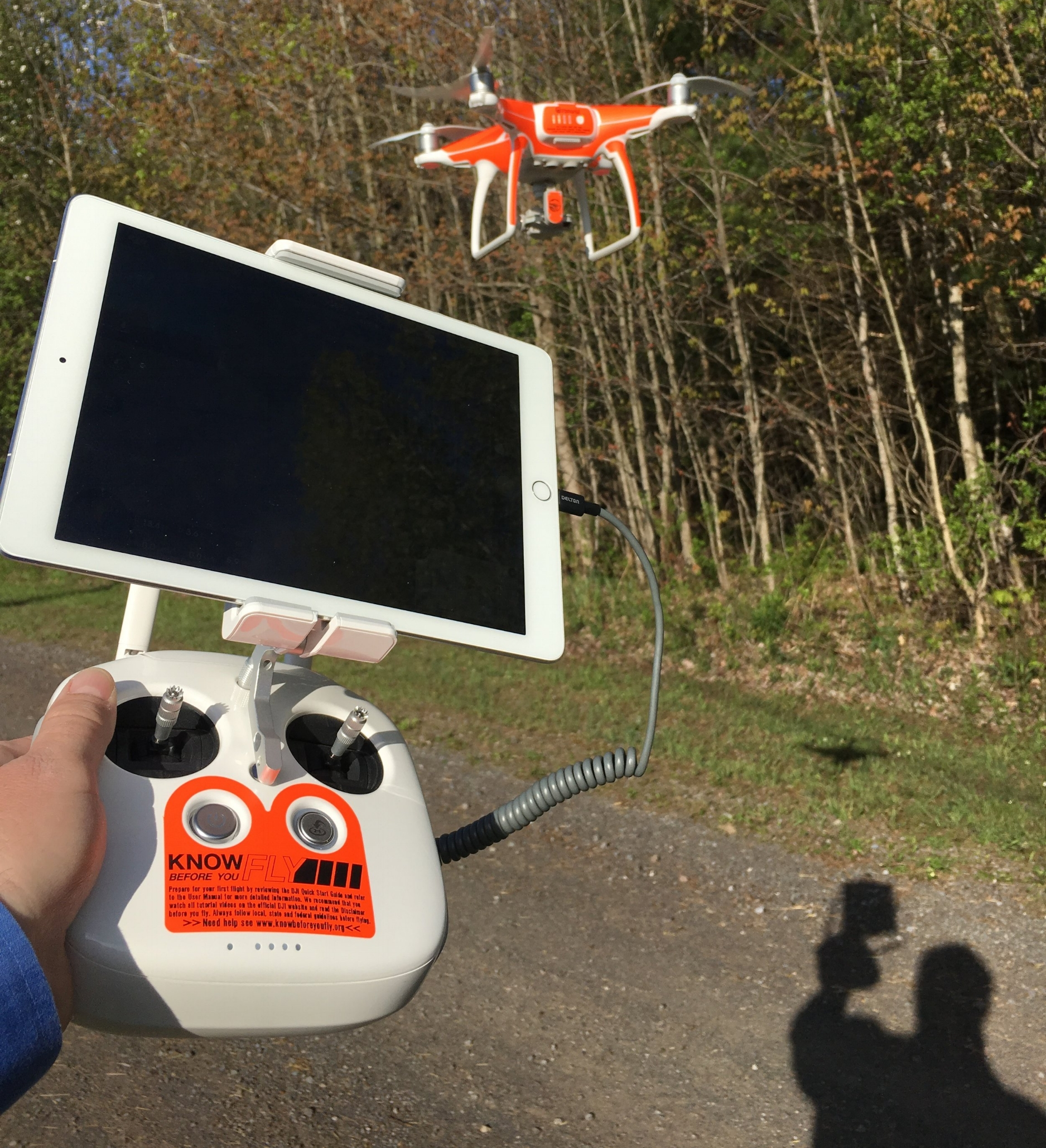 This is the drone we talk about in the webinar to start with,  FlyingAg's Phantom 4 Kit, $1890.