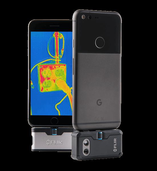 Image courtesy of FLIR,FLIR ONE and FLIR ONE Pro thermal cameras
