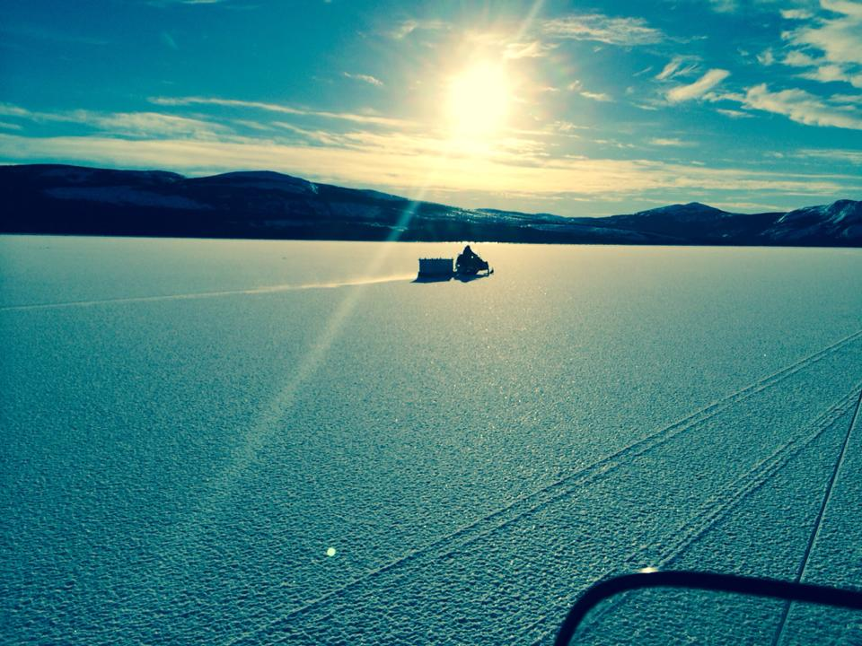 Crossing country near Makkovik