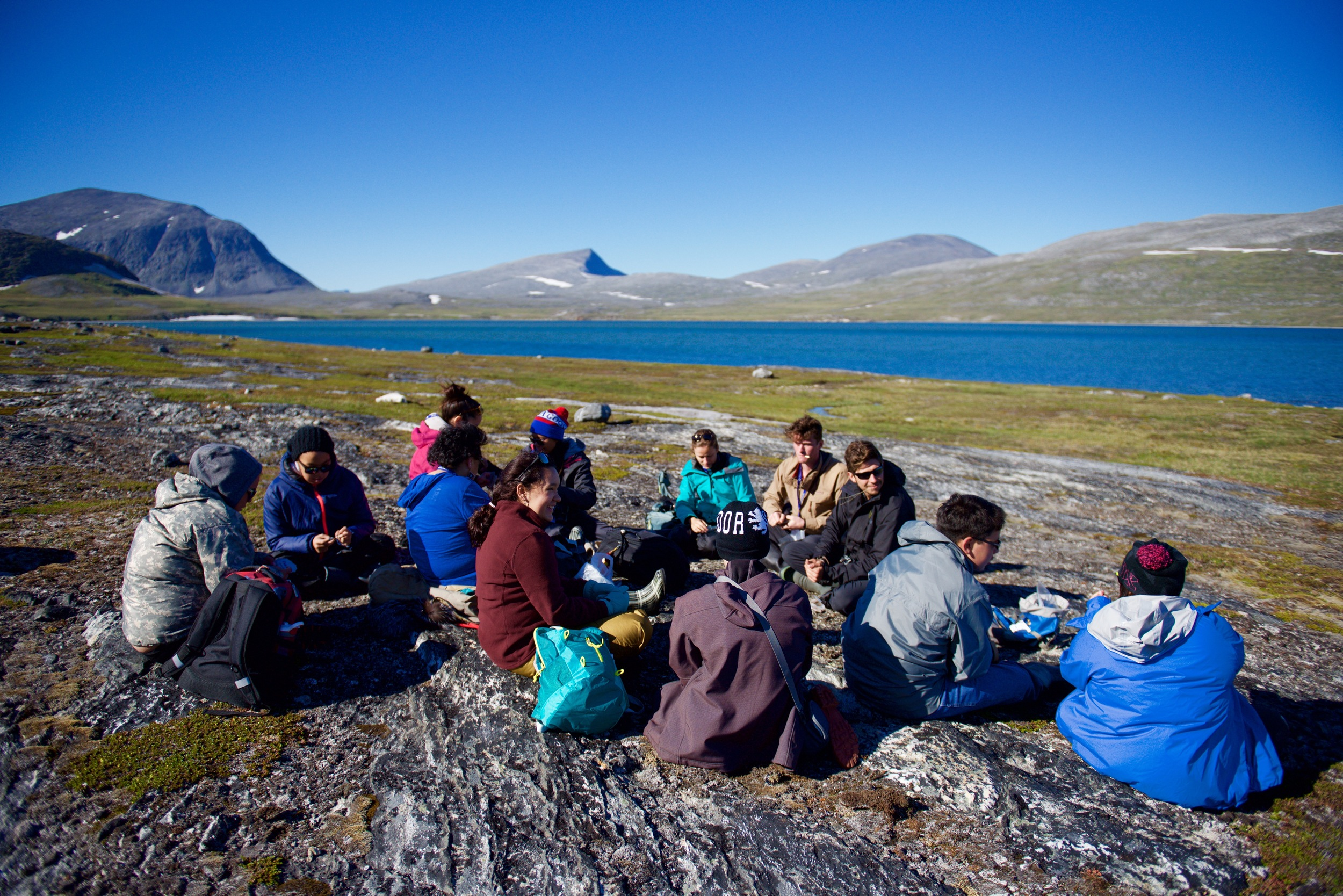 "Annie Petaulassie  teaches Inuit and qaluunaat youth how to make crafts from the land, at Eclipse Channel in the northern Torngats: ""I was brought up in a camp until I had to go to school, I have some knowledge of traditional life. I like to pass on our Inuktitut language, traditional songs, and our history to younger generations.""  With 33 years experience in teaching, Annie integrates Inuktitut in all subjects, from kindergarten to the  Nunavut Sivuniksavut  program. She's celebrated for her skills in sewing, beading, quilting, crocheting, embroidery, and making mittens, slippers, bags, hangings, parkas, and other useful and beautiful things.  ‪#‎teacher‬   ‪#‎ilisaiji‬   ‪#‎ᐃᓕᓴᐃᔨ‬"