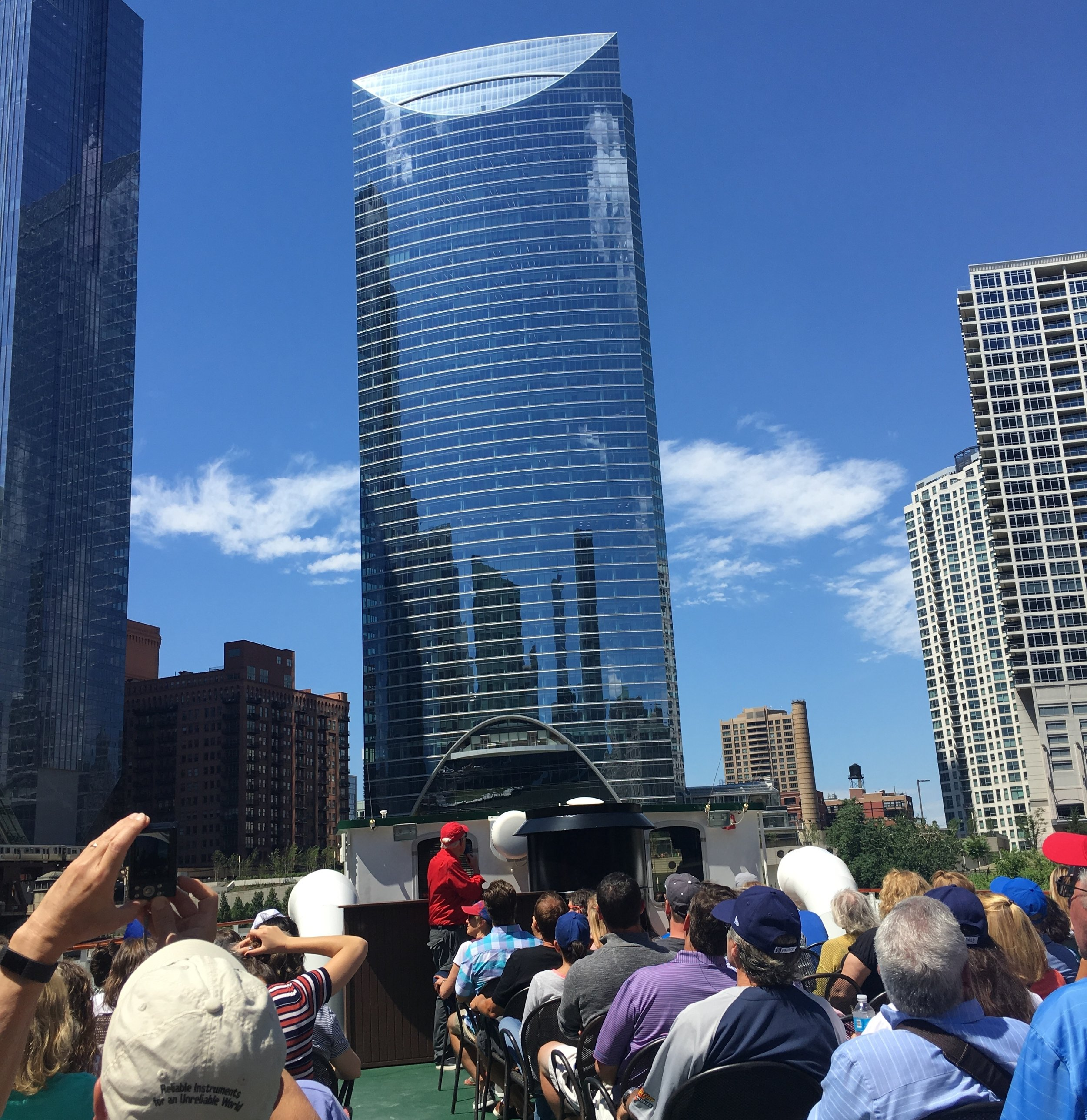 Architecture  River Cruise  - A cruise on the Chicago River is the best vantage to admire the ever changing city skyline and appreciate world-famous architecture.